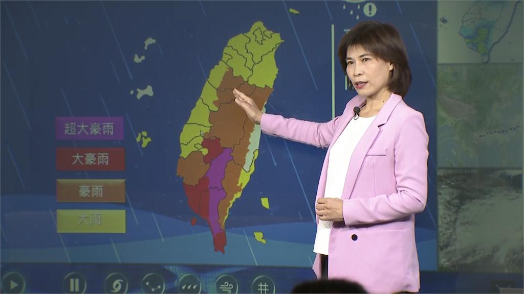 快新聞/雨彈狂襲南台灣 氣象局:山區嚴防坍方或土石流