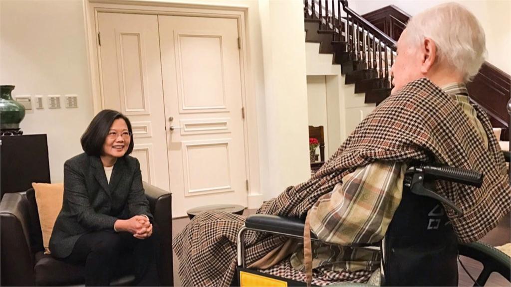 快新聞/前總統李登輝與世長辭 蔡英文:他把民主和自由留給台灣
