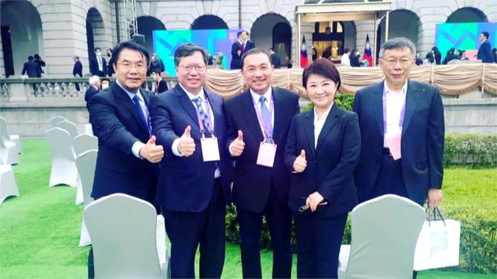 傳曾與韓國瑜、盧秀燕相約不出席520就職典禮?侯友宜:早準備參加