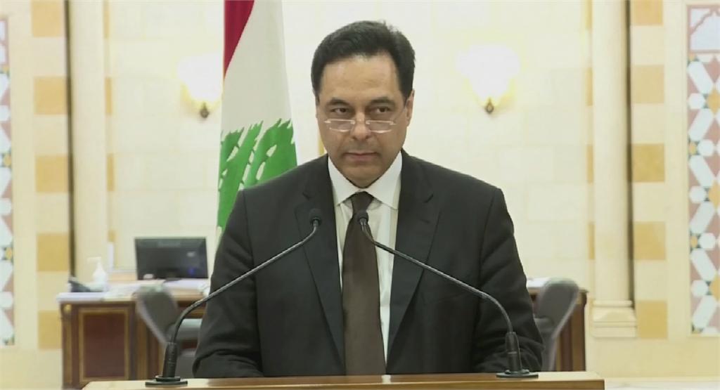 黎巴嫩示威衝突 總理宣布內閣總辭