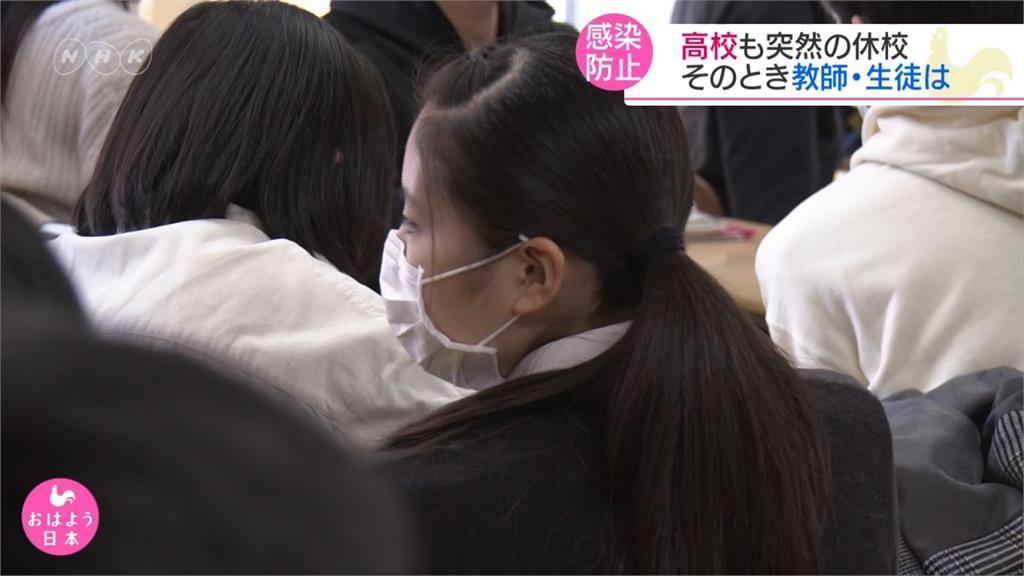 防止武漢肺炎擴散!日本高中以下開始停課