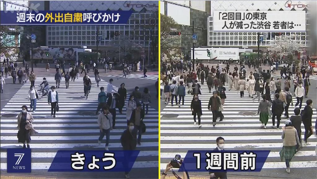 東京大阪呼籲別出門 店家生意慘改做外帶