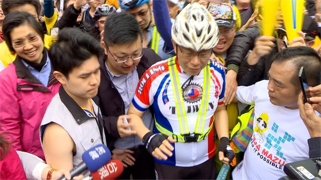 「是強而有力的競爭對手」 陳水扁指柯文哲一定選2020