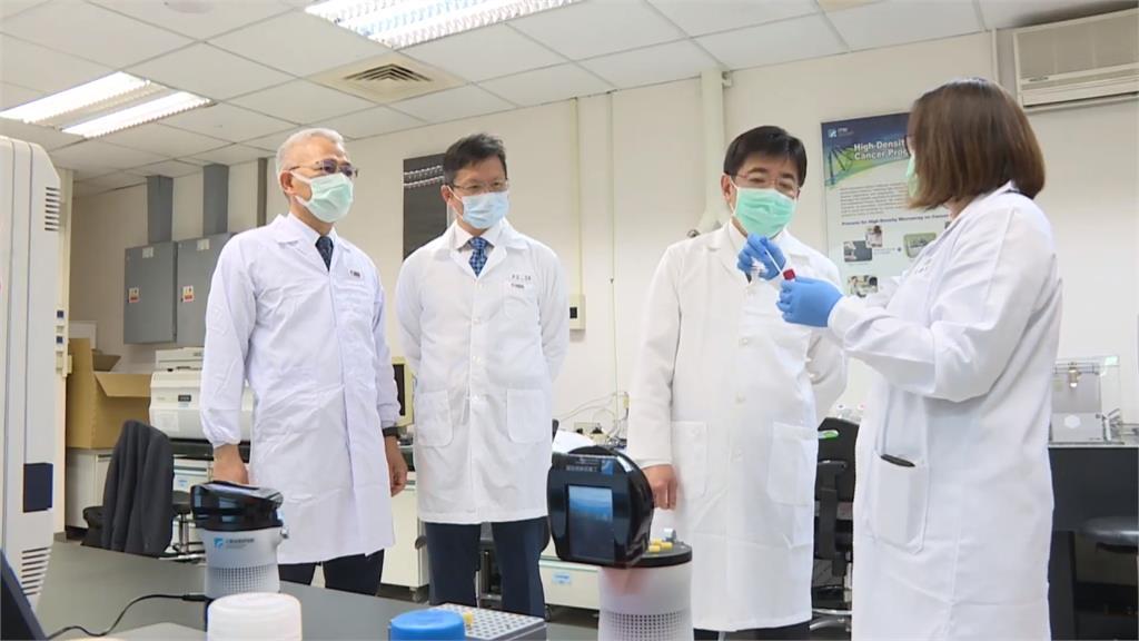 工研院研發快篩試劑「疫開罐」 揪出武肺病毒只要一小時