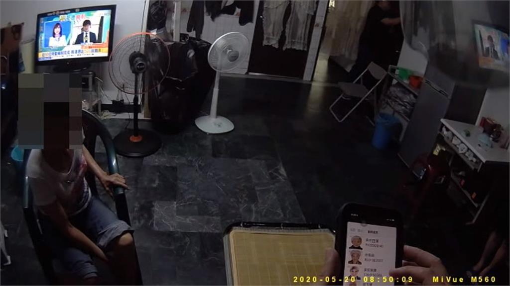 躲查緝藏衣櫃 女賭客缺氧「露出頭」嚇壞警