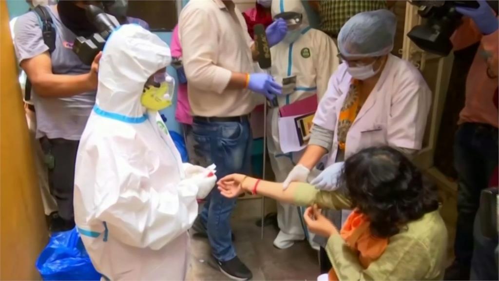 印度疫情升溫!確診數狂飆成第4大疫區