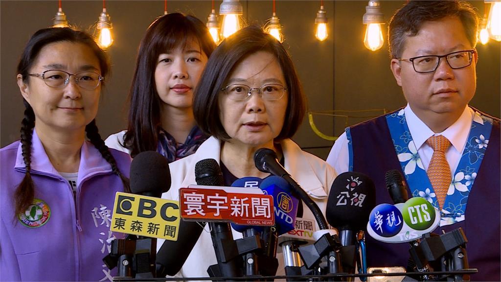 宋楚瑜若支持一國兩制 蔡英文:我們會請他離任總統府資政