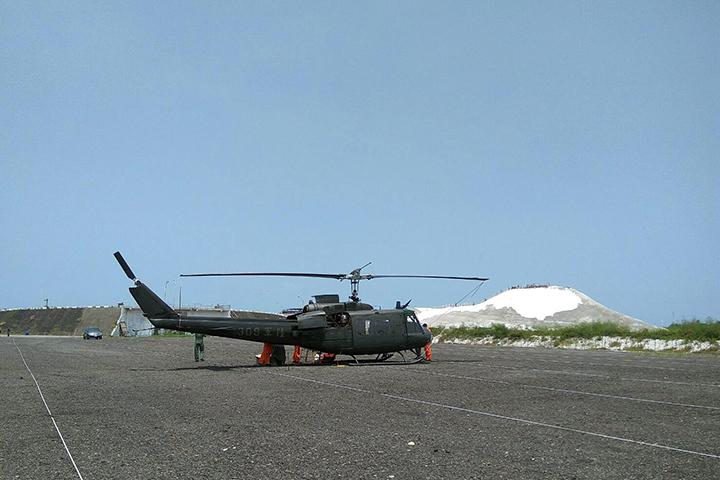 航特部例行訓練出狀況? 直升機預警迫降