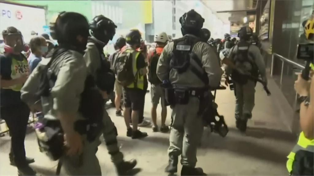 快新聞/港區國安法 日媒:北京擬派數百名武警 以「觀察員」名義常駐香港