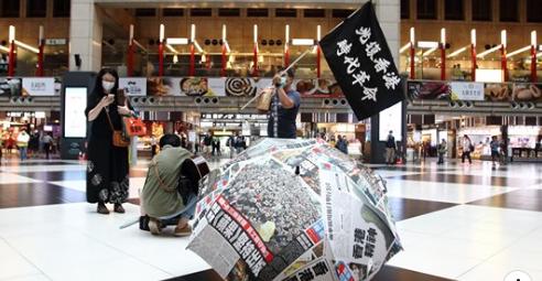 快新聞/香港情勢急迫 台權會向蔡英文喊話:對香港問題「超前部署」