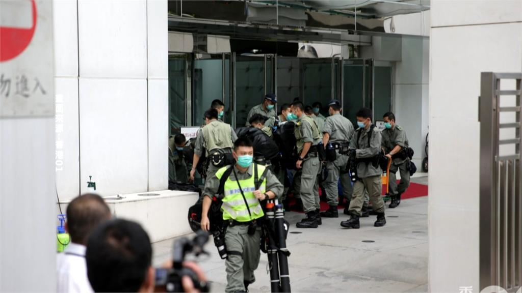 「港版國安法」成一國兩制終點?港警今武裝進駐中聯辦戒備