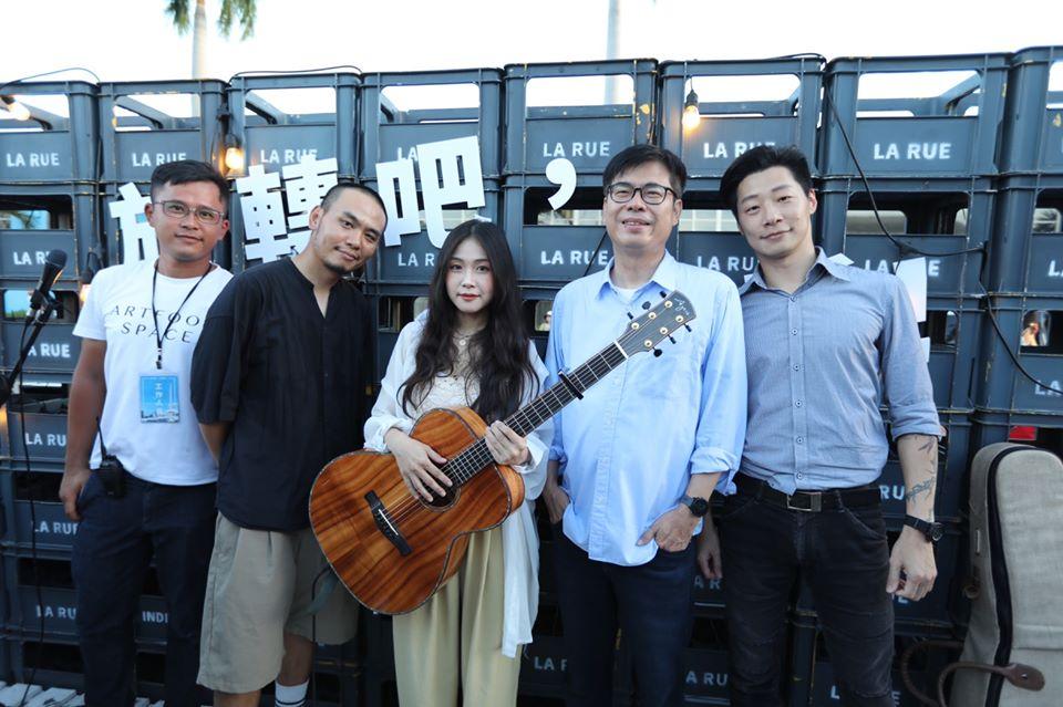 快新聞/陳其邁:當選市長後「恢復大港開唱」 讓有特色團體盡情演出