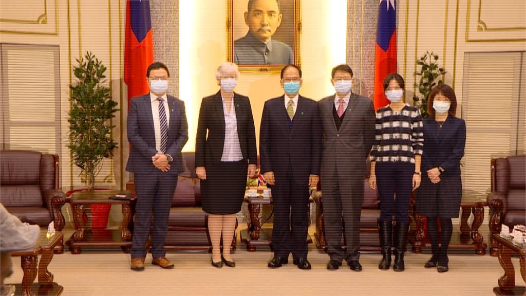 英國議員致函WHO為台發聲 游錫堃接見駐台大使特表感謝