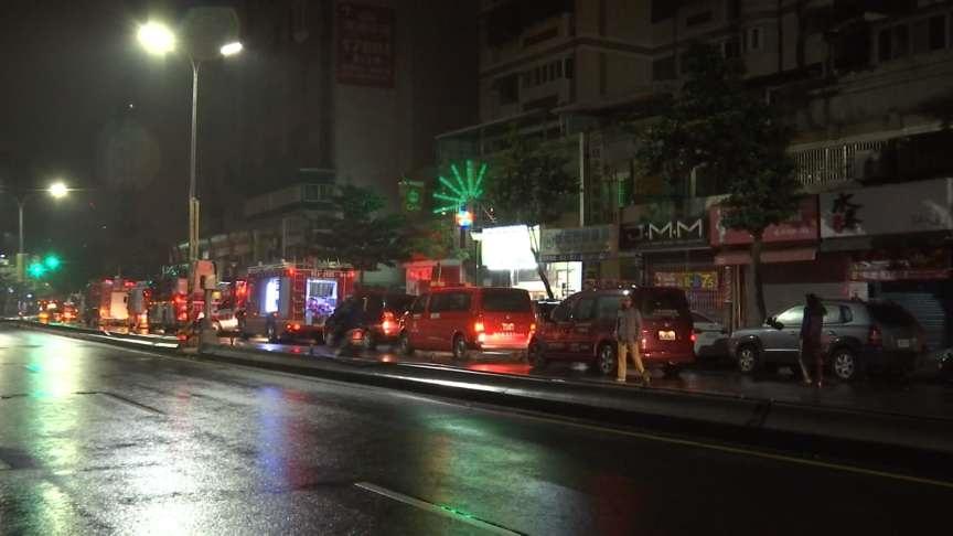 16層高樓傳火警 急疏散住戶幸無嚴重亡
