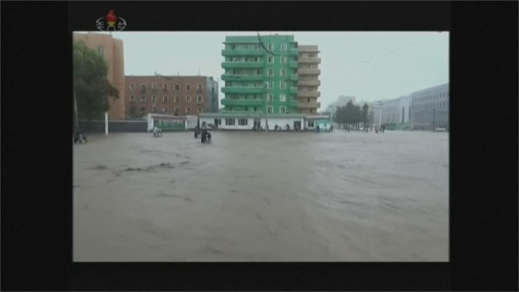 九龍江洪水氾濫 北朝鮮寧邊核設施遭淹