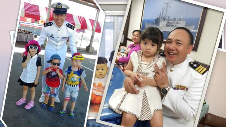 快新聞/向軍職父親們致敬! 海軍艦隊「海軍爸爸」影片感性告白 逼哭大批網友