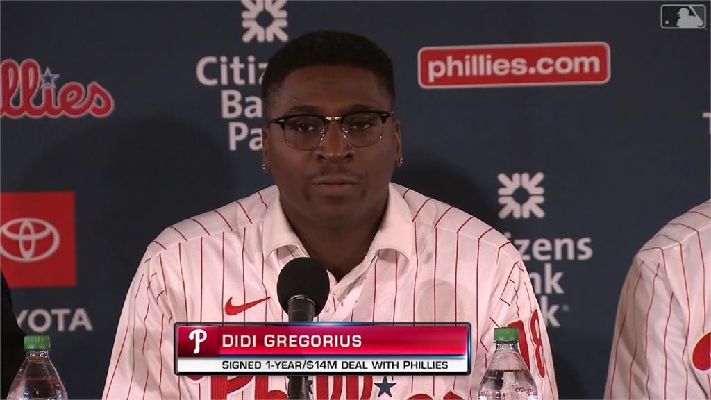 MLB/戰力大升級!費城人迎接葛瑞戈里亞斯、惠勒