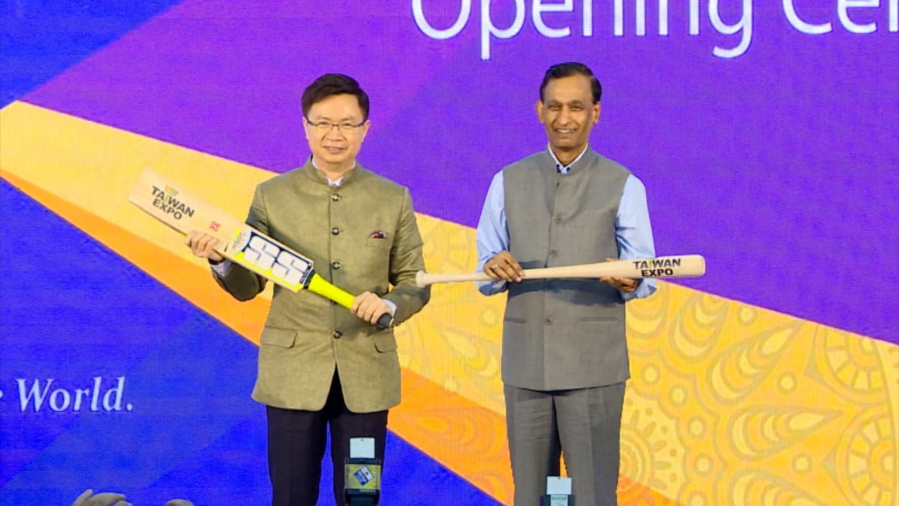 外貿協會首度赴印度舉辦台灣形象展 吸引130家台商參與