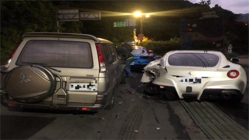 法拉利遭撞車損最慘 整型名醫車主:沒苛責對方