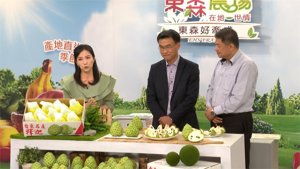 陳吉仲上購物台賣鳳梨釋迦 有信心外銷量不減