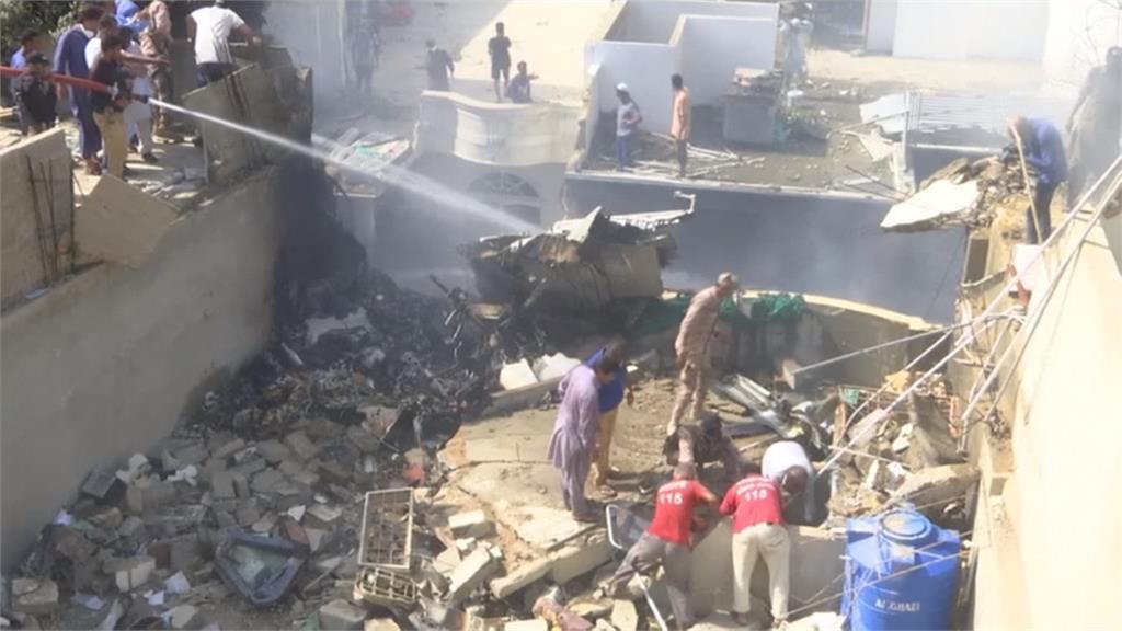 巴基斯坦客機墜毀107人全罹難 失事前曾發求救訊號