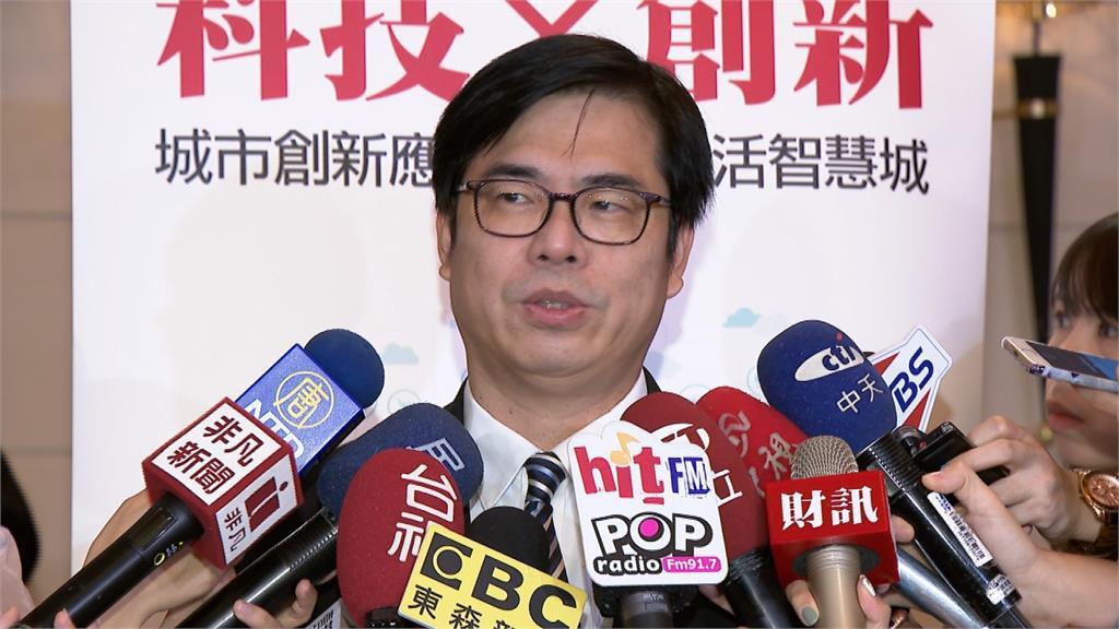 韓國瑜稱海關陳情來台賣淫多 陳其邁:他接詐騙電話?