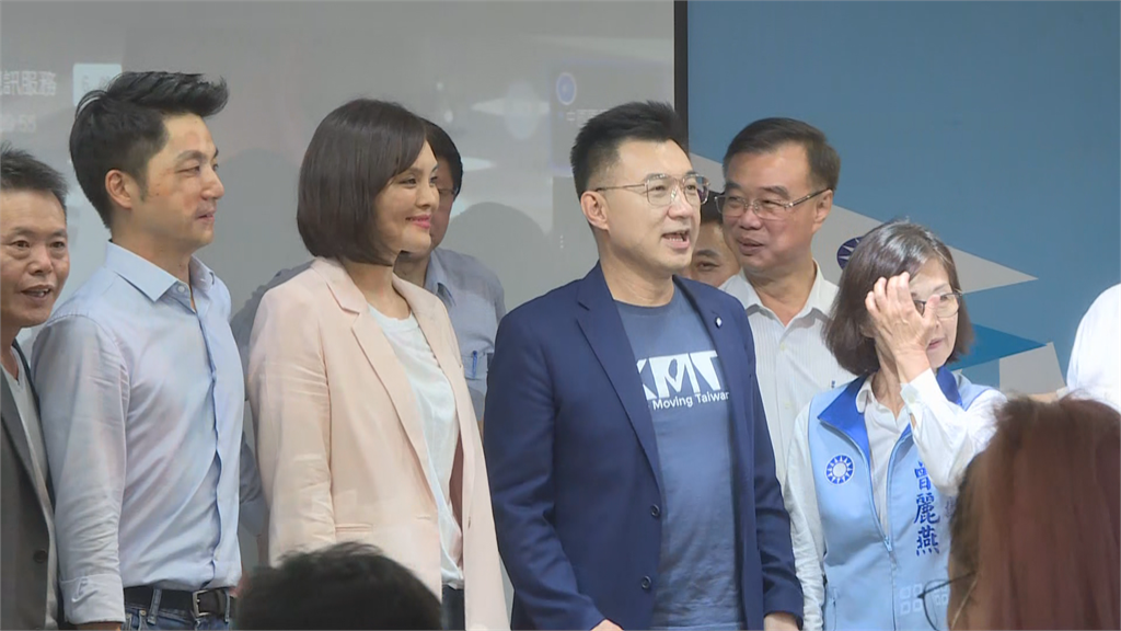 快新聞/公布藍營高市長、議長人選 江啟臣:別讓綠營用補選班師回朝