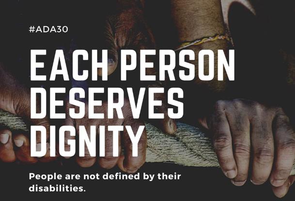 快新聞/《美國殘疾人法案》簽署生效30週年 AIT:台美與全球「民主大家庭」共享價值