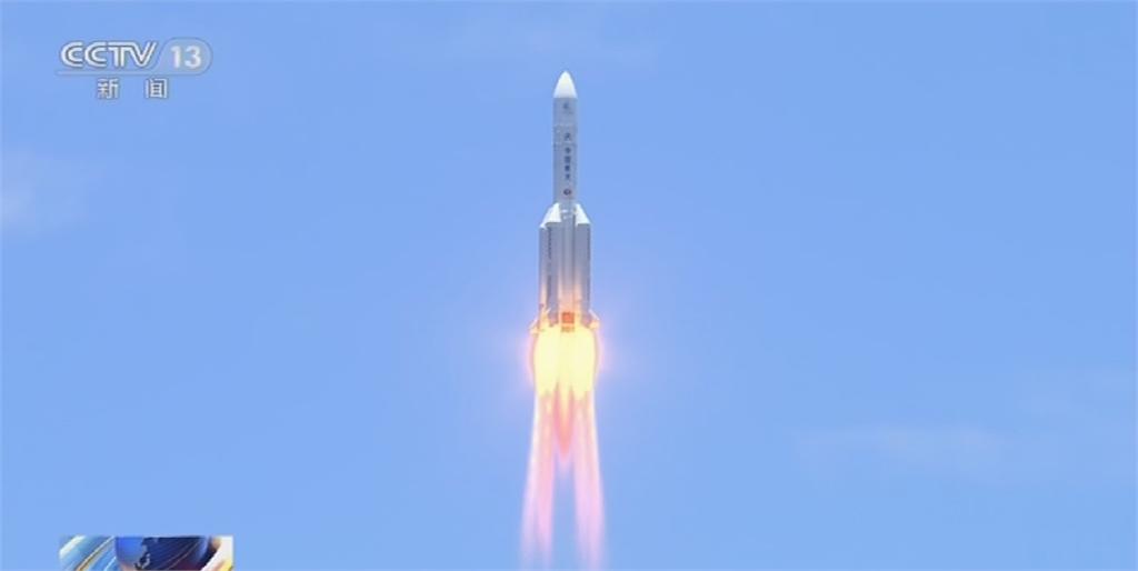 中國太空夢大躍進 發射火星探測器天問一號