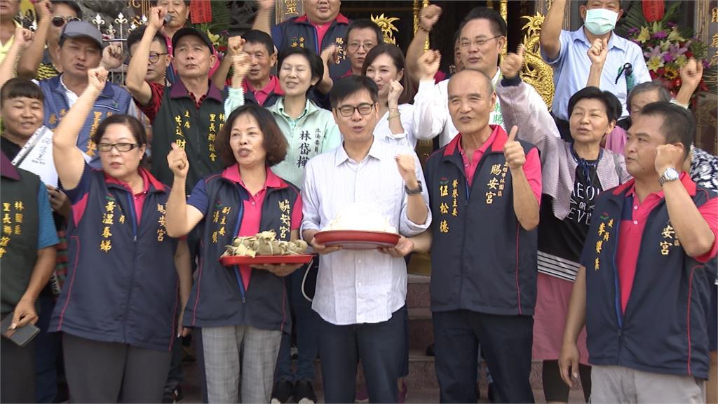 高市長補選藍、白齊攻 陳其邁正面回擊