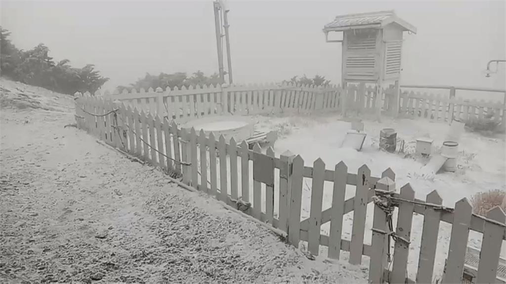玉山再飄三月雪!明北部低溫14度 周一回暖