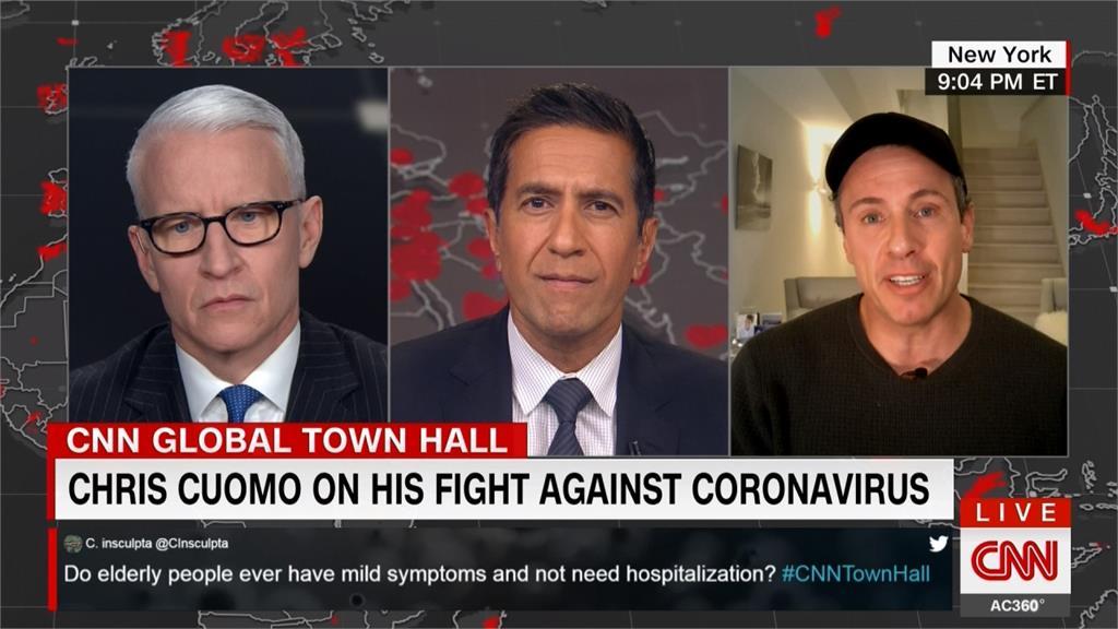 確診武肺後天天敬業直播 CNN主播曝痛苦症狀