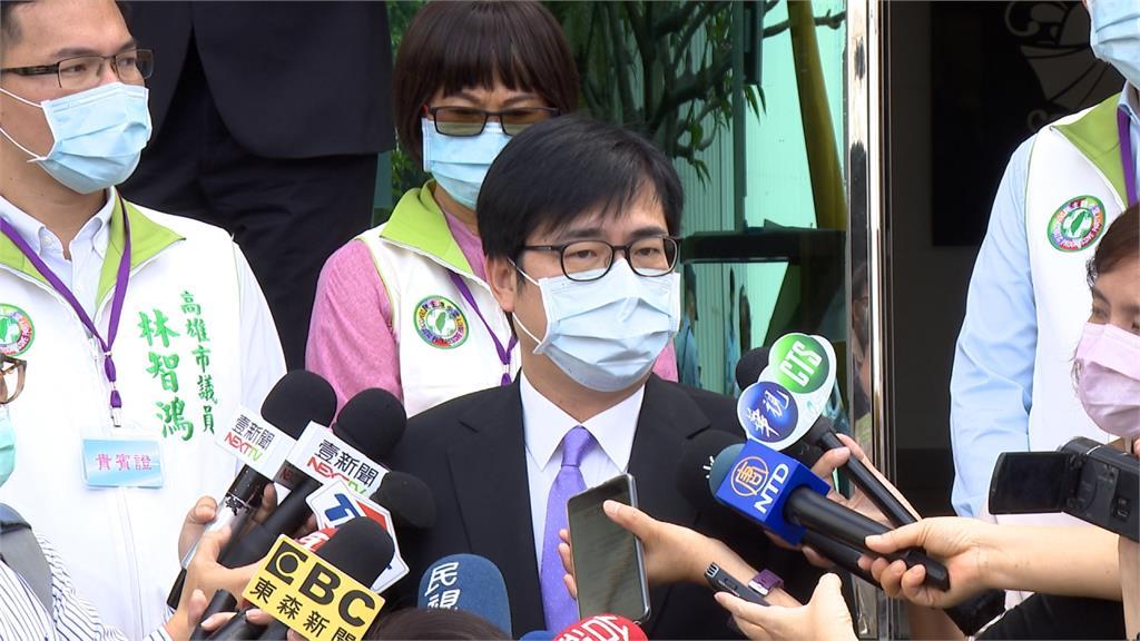 陳其邁籲「順時中」 韓國瑜動怒否認與中央不同調