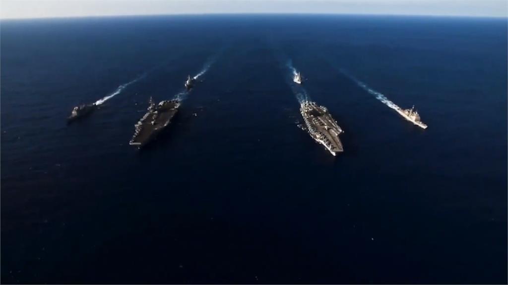 嚇阻中國軍武?美國南海啟動雙航艦作戰