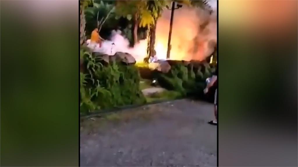 疑遊客用火未妥善熄滅 宜蘭露營區清晨竄烈火