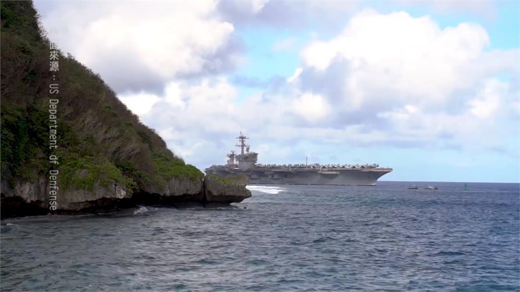 美國航空母艦「羅斯福號」爆百人確診 專家憂中國趁亂對台海威脅