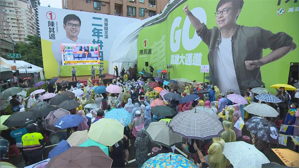 快新聞/陳其邁67萬1804票當選高雄市長!得票率7成超越陳菊紀錄