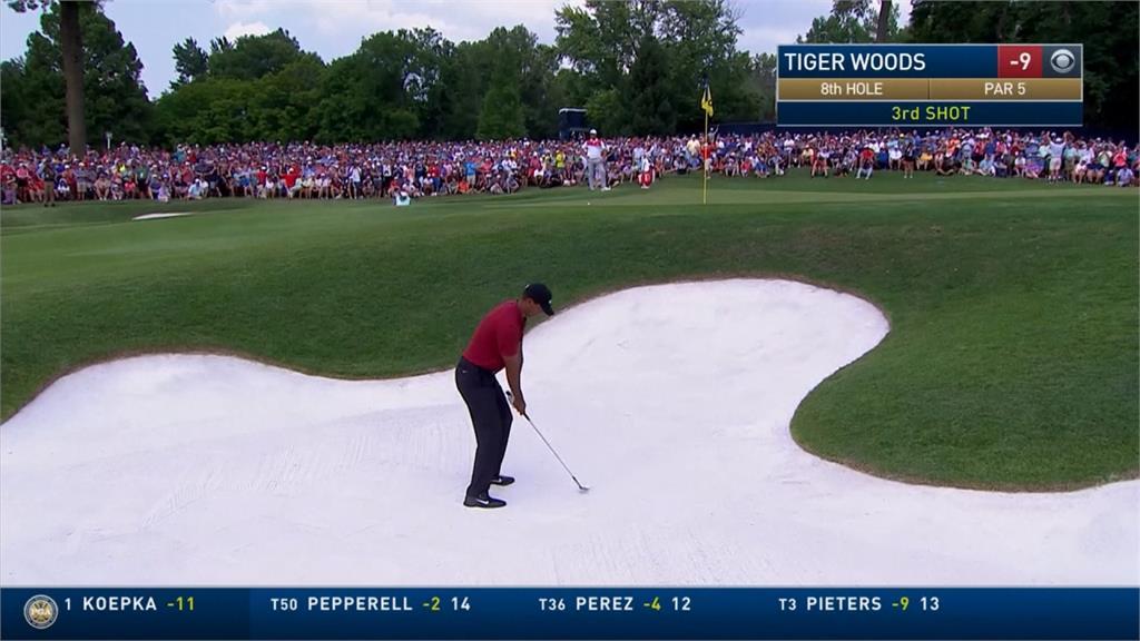 伍茲大復活來真的!PGA錦標賽奪亞軍