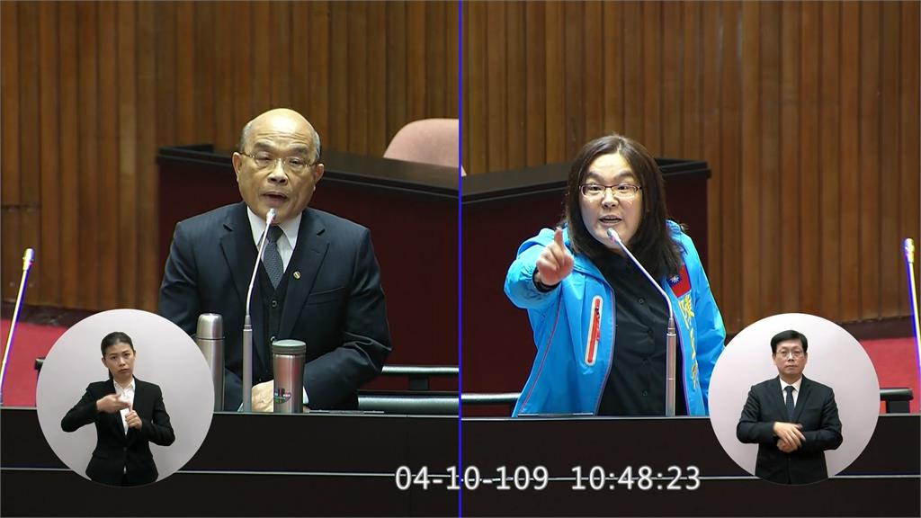 再槓台灣是不是國家 蘇揆:敢在北京講中華民國?