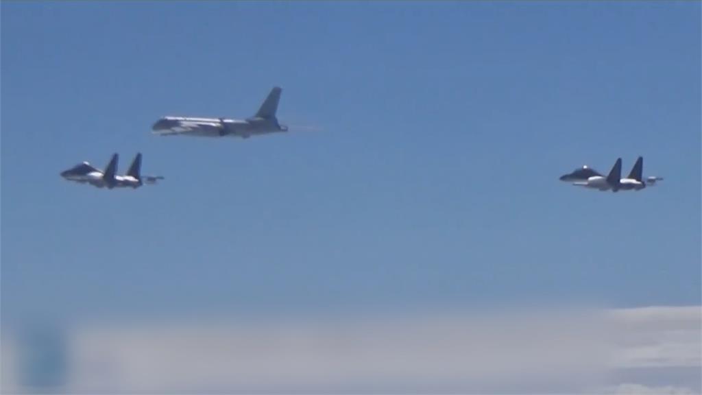 又挑釁!共機今年第六度擾台 國軍戰機立刻升空監控