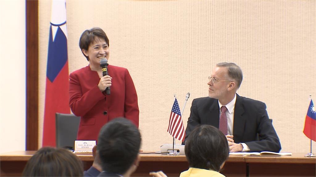 美議員將提「護台法案」阻中侵犯 蕭美琴:非常感謝