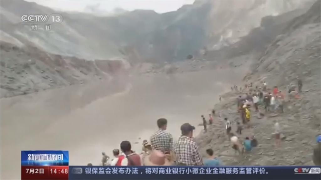 緬甸玉石礦場崩塌 上百人罹難