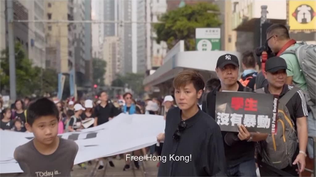 紀錄片曝香港社運街頭抗爭 何韻詩:和民眾奮戰到底