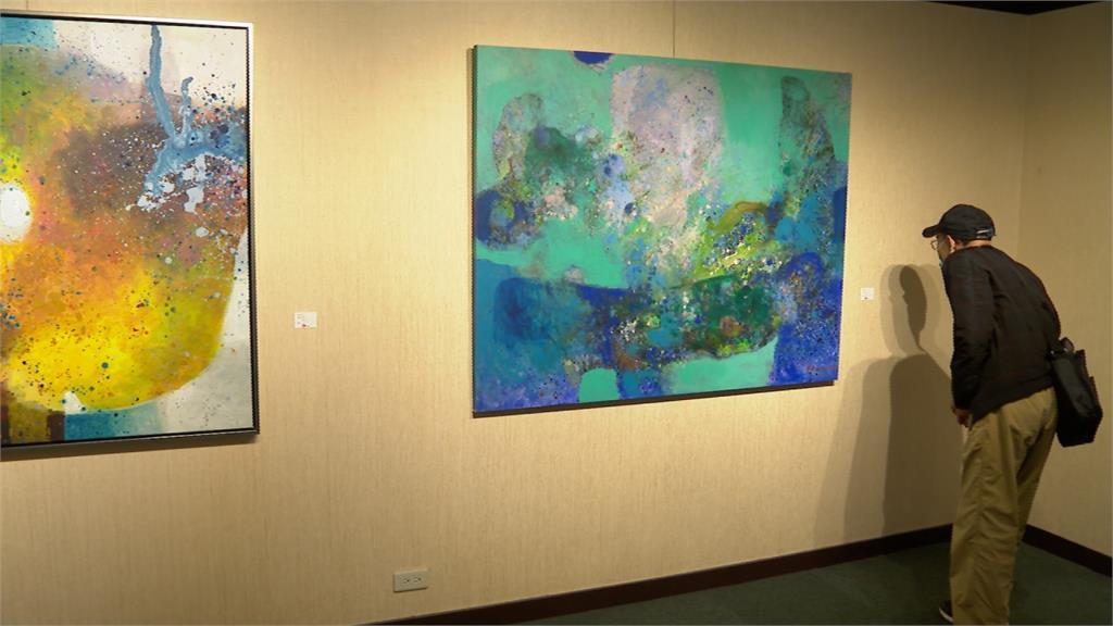 致力海外民主運動 陳文石返台舉行個人畫展