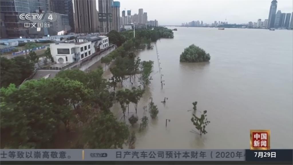 三號洪水持續推進 長江中下游汛情仍嚴峻