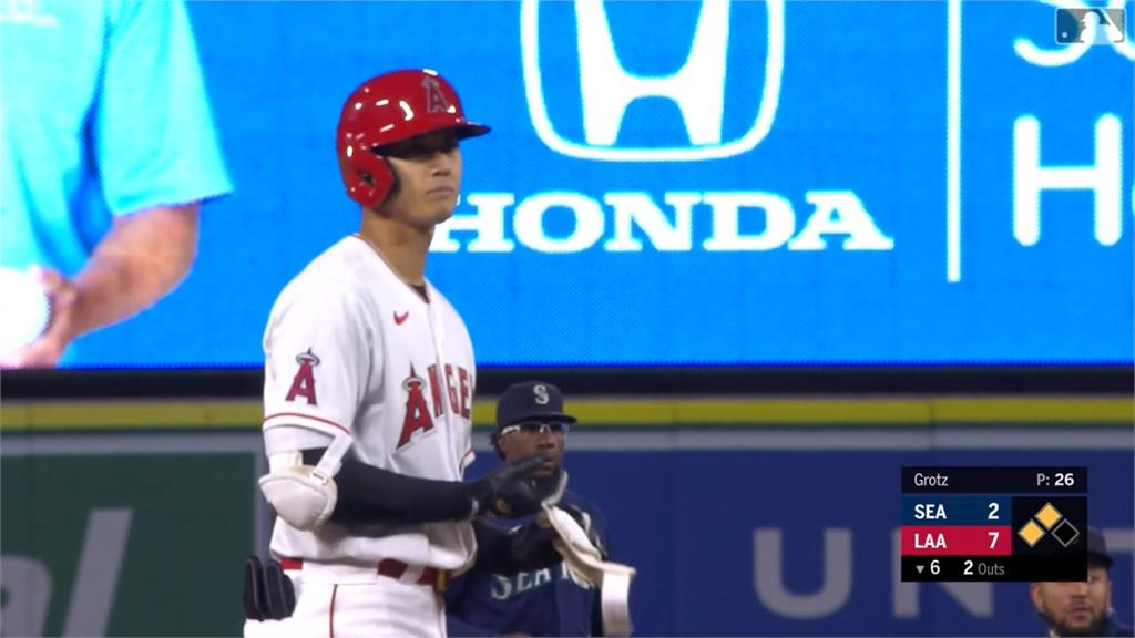 MLB/大谷長打開張帶打點 天使創主場開幕戰得分新高