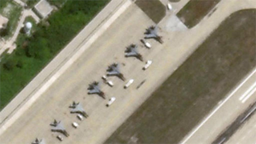 南海角力!中國8戰機進駐永興島 美國4轟炸機關島備戰