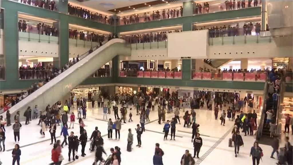 反送中/港人發起「逛而不買」示威 港警照例粗暴清場