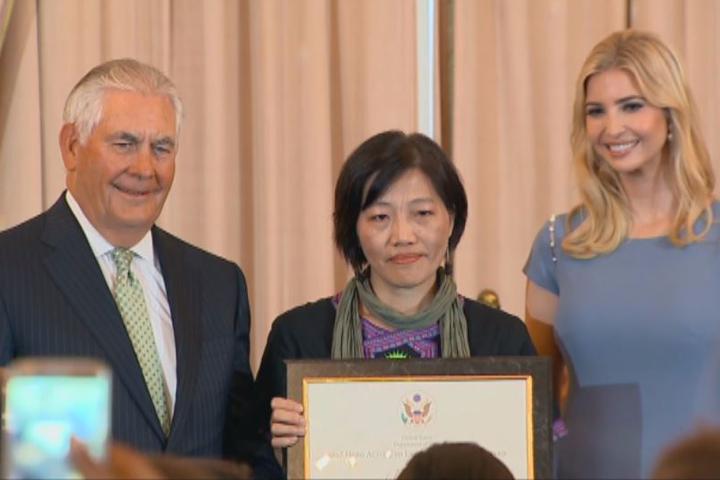 捍衛外籍漁工權益 李麗華獲美國務卿表揚