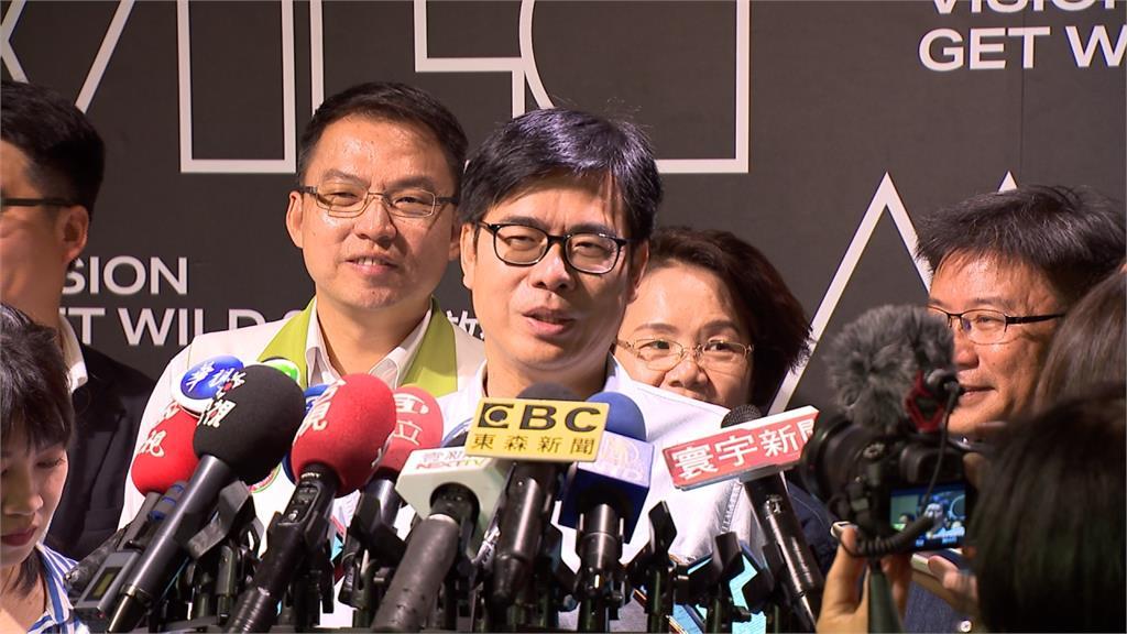 傳韓國瑜8月全台謝票 陳其邁酸:為罷免謝票?
